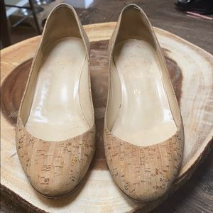 Christian Louboutin cork wedge size 36